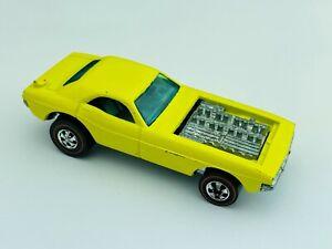 Hot Wheels Redline SHOW OFF Yellow Enamel EX/NM 1973 !!! Very Nice !!!
