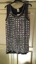 1990s vintage sequin 60s inspired dress by KIT bnwt.