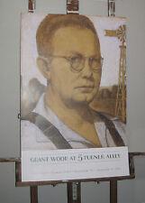 grant wood portrait poster