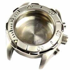 Original Swiss Made stainless steel watch case Chronograph Valjoux 7750