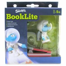 NWT The SMURFS Smurf Clamp Book Reading Night Light Lamp Booklite Lite Boys