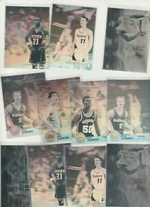 90'S INSERTS LOT (11) DIFFERENT AWARD WINNER HOLOGRAMS 1991-92 1992-93 W FOREIGN