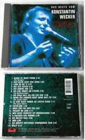 KONSTANTIN WECKER Zeitlos / Das Beste .. Polydor CD TOP