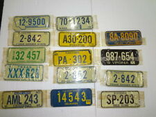 Cereal License Plates from 1970  New Lot of 14