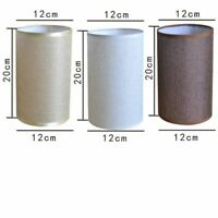 Lampshade Linen Textured Fabric Lamp Shade Table Ceiling Light Cover Home Modern
