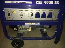 Endress Stromerzeuger Generator Stromaggregat Benzin ESE4000BS  Notstrom