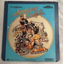 CED American Graffiti RCA Videodiscs Stereo 13304
