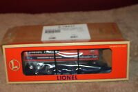 Lionel 1997 Railroader Club Flatcar w/Trailer #6-19437  train car
