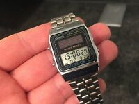 Casio Unisex 1970s Batteryless Watch AL-180 Made in Japan - VINTAGE WATCH