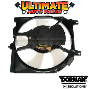 A/C Condenser Cooling Fan (1.6L) for 98-99 Nissan Sentra (Automatic)