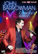 John Barrowman : Live - Collector's Edition (2 Discs) - New DVD, Sealed. BONUS