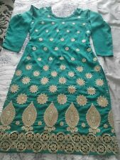 3 Piece Salwar Kameez Suit, Green