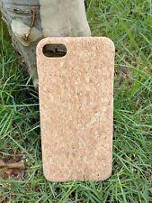 EcoQuote iPhone 7 / 8 Handmade Phone Case Hard PC Cork Finishing For Vegan