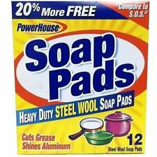 PERSONAL CARE PRODUCTS STL Wool Soap Pad, 0.37 Pound
