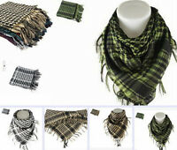 Men Women New Lightweight Shemagh Arab Fashion Kerchief Tactical Military Scarf