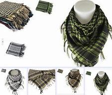 Men Women Shemagh Arab Kerchief Military Scarf Head Wrap Muslim Hijab Shawl
