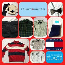 Boys 3T VINTAGE Winter Lot Ralph Lauren Hilfiger Bow Tie VTG Suit Clothes