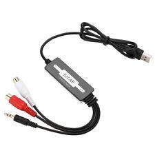 USB-Audioaufnahme 100-cm-Recorder-Karte Konvertiert Plattenspieler-Kassetten