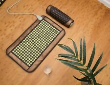 HealthyLine Natural Jade Negative Ions InfraRed Mat Heating Therapy Medium Pad