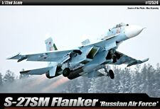 1/72 Academy Russian Air Force S-27SM Flanker E 12524  Plastic Model Kit