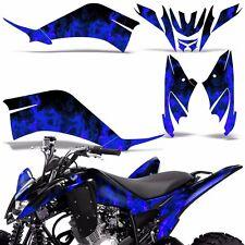 Yamaha Raptor 125 Decal Graphic Kit Quad ATV Decal Wrap Racing 2011-2014 ICE BLU