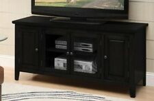 ACME BLACK TV STAND - 10344 TV STAND NEW