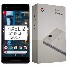 "BNIB 5"" Inch Google Pixel 2 (2017) G011A 128GB White Factory Unlocked 4G GSM"
