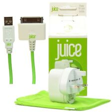 Genuine Juice Apple Certified Mains Wall Charger for iPhone 3 3G 4S & iPad 2 & 3