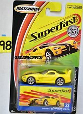 MATCHBOX 2004 35YRS SUPERFAST DODGE VIPER GTS R #33