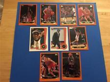 1999/00 Topps Chicago Bulls Team Set 9 Cards with Rookie SP Artest Elton Brand