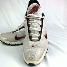 Nike Mens Shox Turbo Running Shoes White 315378-101 Lace Up Low Top 11 M