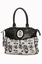 BANNED VICTORIAN STEAMPUNK NAUTICAL OCTOPUS MOON CALAIS SHOULDER BAG HANDBAG NEW