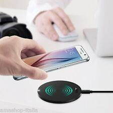 AUKEY Caricatore Wireless Qi con Indicatore LED, Sottile e Portatile, Universale