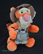 Safari TIGGER Mouseketoys Disney Plush Bean Bag Stuffed Animal Kingdom Tiger