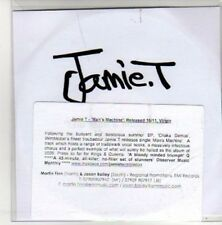 (AK781) Jamie T, The Man's Machine - DJ CD