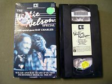 THE WILLIE NELSON SPECIAL WITH SPECIAL GUEST RAY CHARLES VHS