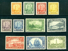 CANADA #149-59 Mint - 1928-29 Pictorial Set