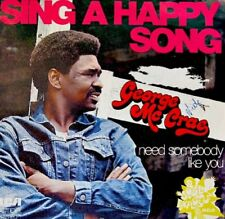 GEORGE MC CRAE sing a happy song SP45T 1974 RARE VG++