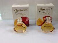 Capucci De Capucci Lot of 2 Women Parfum Eau De Toilette Splash 0.24 oz Nib
