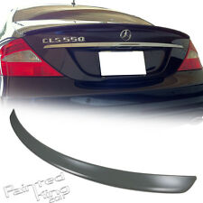 Mercedes Benz W219 A CLS Rear Trunk Spoiler Wing 2004 2010 Unpainted