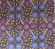 Australian Aboriginal Dot Fabric Stella Black Craft Quilting Sewing Patchwork FQ
