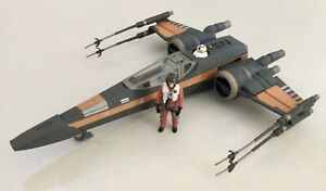Complete Hasbro Star Wars Poe's X-Wing Fighter