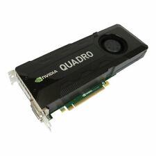 nVIDIA Quadro K5000 Grafikkarte 4GB GDDR5 PCIe 2.0x 16 2x DisplayPort, 2x DVI