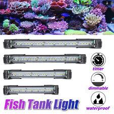 100-240V Aquarium Fish Tank Lights Waterproof Full Spectrum Plants Marine