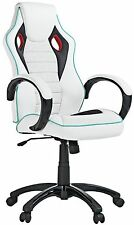 X-Rocker 2.0 Wireless Gaming silla blanco PU con sonido RRP £ 199.99
