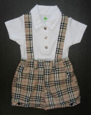 Unbranded Party Checked Outfits & Sets (0-24 Months) for Boys