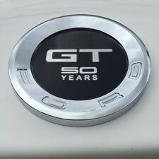 GT 50 YEARS Styling Car Tail Rear ABS Emblem Sticker for Ford Mustang GT 2010+