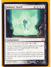 MTG Magic  1 x   DEBTORS' KNELL  Guildpact  Rare Enchantment  Never played