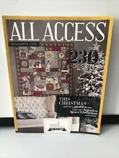 All Access VIP NOVEMBER 2018 Anita Goodesign  Embroidery Designs BOOK AND CD