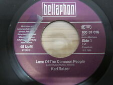 Single /  Karl Ratzer ‎– Love Of The Common People   / AUT  PRESS / RAR /